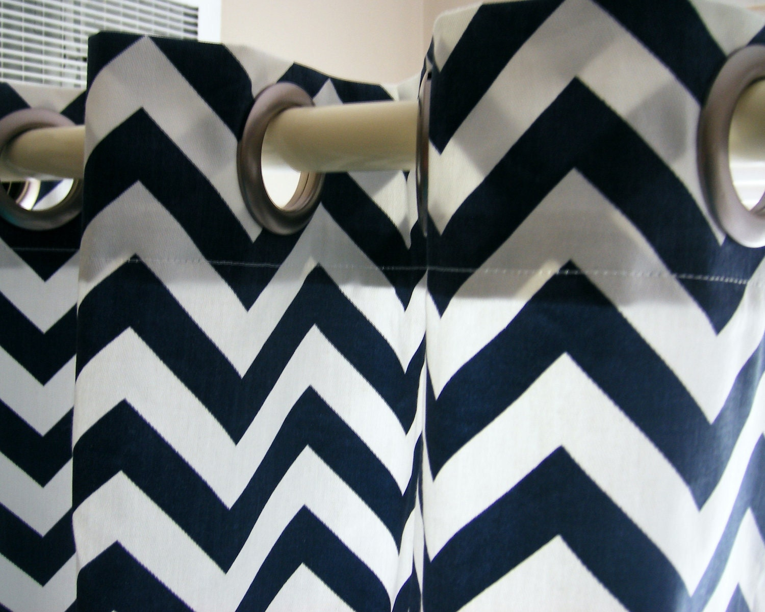 Clearance Shower Curtain Chevron 72x72 by elisabethmichael