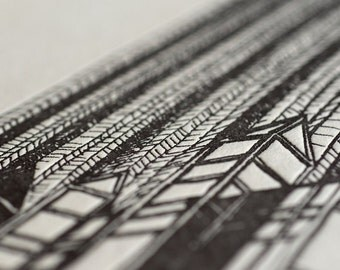 Glass Cathedral Limited Edition Pittsburgh Letterpress Print