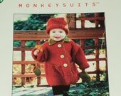 "PATTERN ""Monkeysuits"" Swing Coat by Sharon Turner  Knitting pattern"