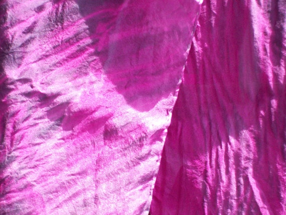 """Hand-Dyed Silk , Habotai Scarf,  8"""" by 69"""", Orchid Pink and Purple-ish Blue, Beautiful and feminine, belt, head wrap, scarf"""