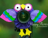 Lens Bling - Purple Parrot- Ready to Ship