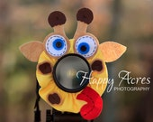 Lens Bling - Silly Giraffe with Squeaker - Ready to Ship