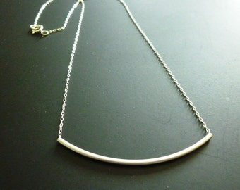 Tube Necklace,Gold Tube Necklace-silver tube necklace,long tube necklace,Thin Tube Necklace-layer Tube Necklace,skinny tube necklace