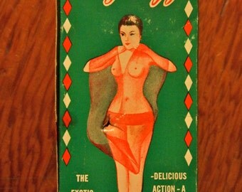 """very cool Pin Up Vintage Novelty Gift """"SEXY SUZY"""" Doll Stripper Peek a Boo 50's"""