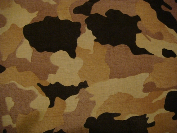 Camouflage Table Runner