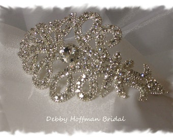 Wedding Headband, Rhinestone Bridal Headband, Crystal Wedding Headpiece, Bridal Headband, Jeweled Wedding Headband, Head Piece, No. 2071HB