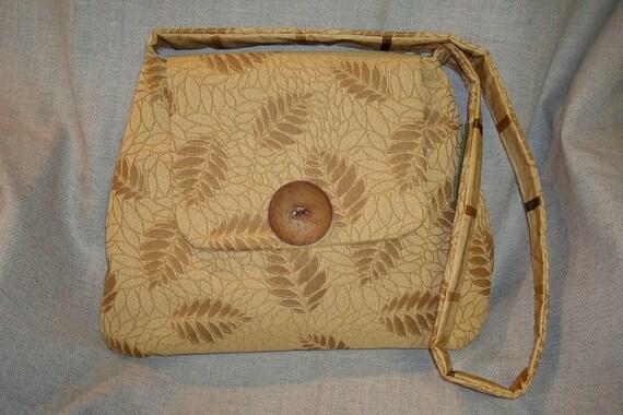 Large Tan Upholstery Vernazza Bag