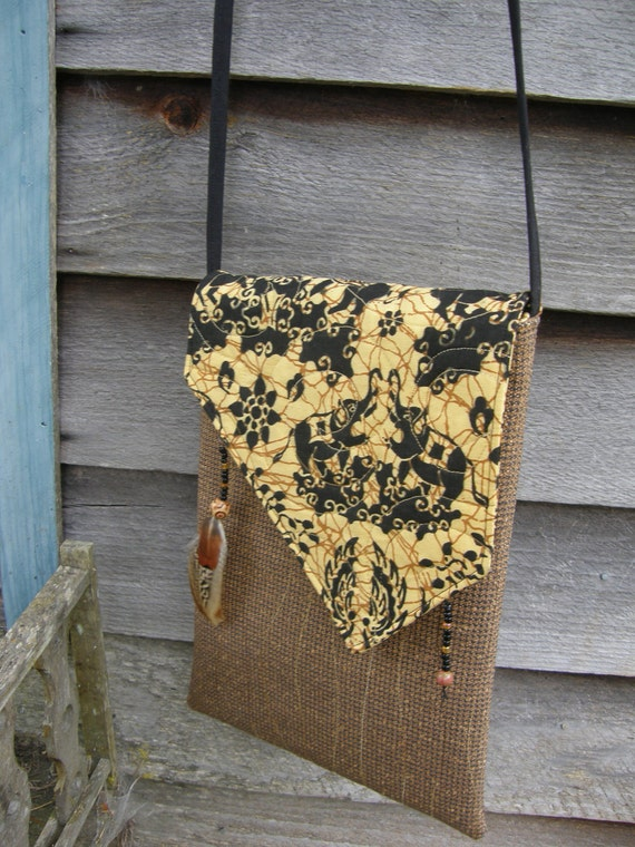TWIN ELEPHANTS Rustic Quilted Hip Bag