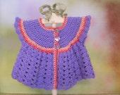 Hyacinth Rose Summer Sweater