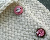Merino Wool Button Up Knapp Sack
