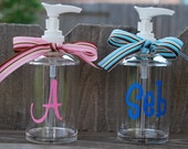 Personalized Acrylic Soap Dispenser