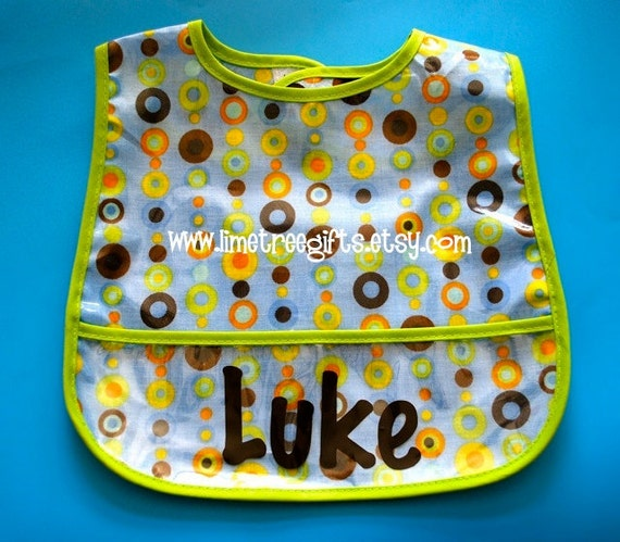Little Dots Bib Personalized