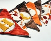 Fall Harvest Bunting Banner