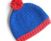 """South Park inspired  """"Stan Marsh"""" Beanie Hat- Adult Size"""