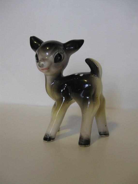 Vintage FAWN DEER Figurine  Japan
