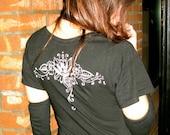 Organic Cotton/Hemp 'I am BEAUTIFUL' Black Tunic
