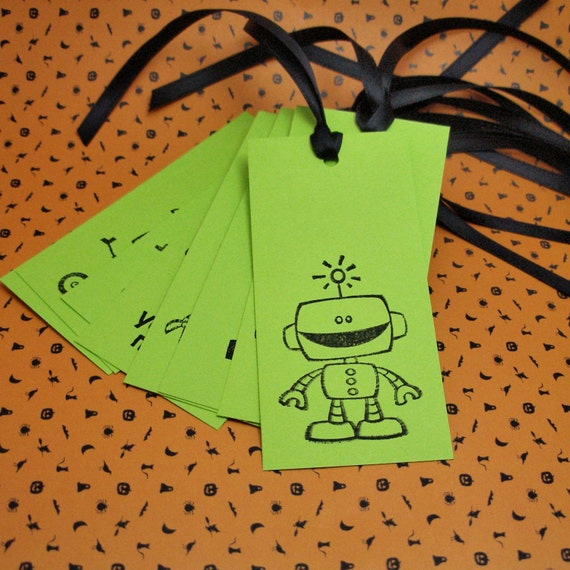 Robots tags - set 8 - fundraiser