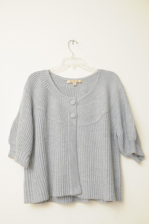 Super Cute Vintage Wool Grey Sweater