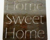 Home Sweet Home, Metal Sign