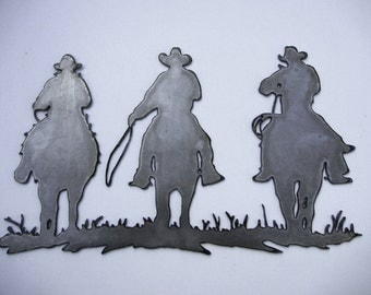 Cowboys, Metal Sign