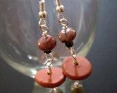 Down to Earth earrings