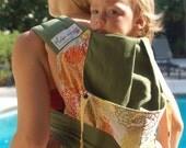 "CUSTOM Baby Carrier ANKA Half Tai 16"" size (half buckle)"