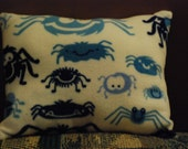 Spiders Pillow Fleece and Flannel