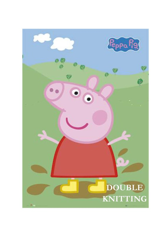 Peppa Pig Knitting Patterns : Items similar to OWN DESIGN Peppa Pig Jumper Knitting Pattern on Etsy
