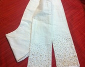 Wedding Easter Celebration Liturgical Stole in Silk