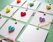 Quilled Heart Gift Tags