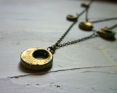 Minimalist Cascade Rings Necklace - Nia Rings