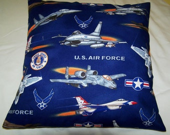 United States Air Force Toss Pillow Cover