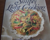 Weight Watchers Cookbook, Simply Light Cooking, First Printing, from Nana's Vintage Shop on Etsy