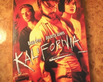 Kalifornia, Brad Pitt, Twisted Redneck Killer, Kalifornia VHS Tape by Nanas Vintage Shop on Etsy