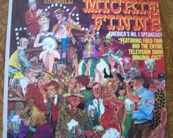 Mickie Finn's America's No. 1 Speakeasy, 33 RPM LP Vintage record