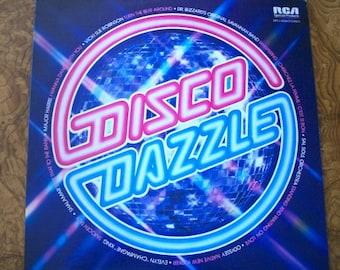 DISCO DAZZLE,  LP Album, 1979, Disco Music, Nanas Vintage Shop on Etsy
