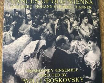 Vinyl LP Album, Dances of Old Vienna, Boskovsky Ensemble, Decca Record Company, 1968, Clearance Sale