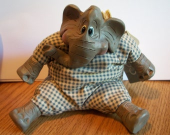 Harry the Elephant, by Nanas Vintage Shop on Etsy