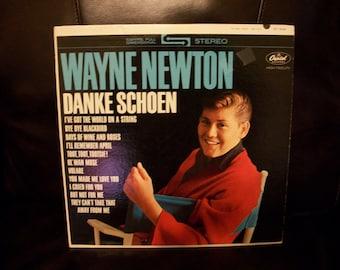 Wayne Newton, Danke Schoen, Vinyl LP Album, Mr. Las Vegas, Nanas Vintage Shop on Etsy