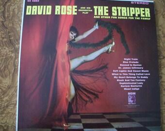 David Rose, The Stripper, Vinyl LP Album, Nanas Vintage Shop on Etsy