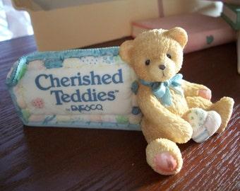 Cherished Teddies, 1991, by Nanas Vintage Shop  on Etsy