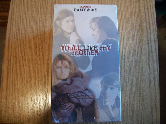 You'll Like My Mother, Patty Duke, VHS Tape 1972,  New still in wrapper, Nanas Vintage Shop on Etsy