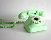 Mint Geen Dial Telephone