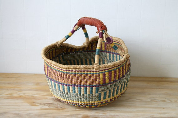 SALE Large Woven Basket