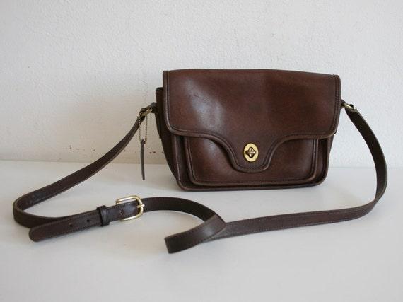 RESERVED FOR SPRITEY  Vintage Brown Coach Bag