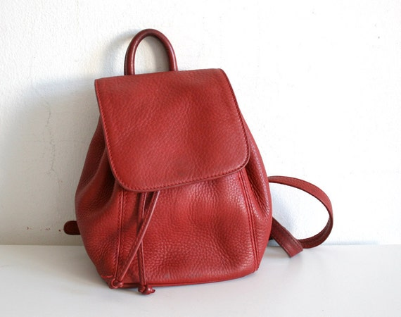 SALE RARE Red Coach Backpack