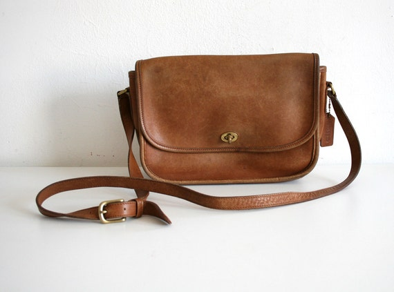Worn Coach Satchel