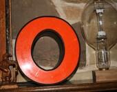 Big Vintage Letter O or Zero
