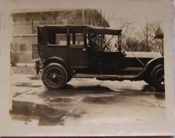 Photo - 1915 Ford Model T Touring Car Limo with Chauffeur