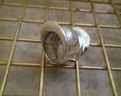 Custom Listing - ARMOR Silver Ring sz 13